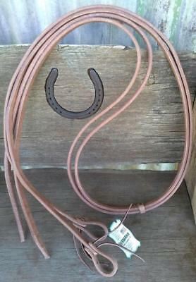 Hermann Oak Leather Split Reins  in 6ft,7ft,8ft Reining, Cutting, Campdrafting