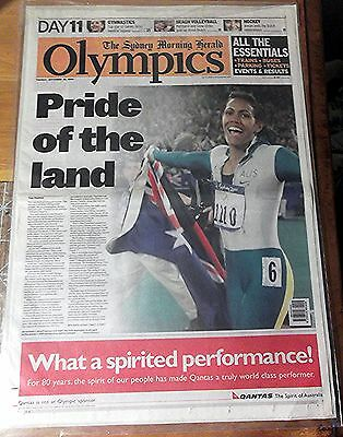 2000 The Sydney Morning Herald  'the Olympics' ~ 10 Pages Of Newspaper