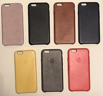 Genuine apple iPhone 6/6s Leather case