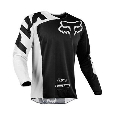 Fox 2018 180 Race Mx Motocross Jersey Black