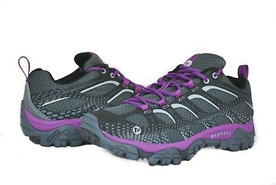 Merrell Women Moab Edge J35J26 in Black/Purple New w/ Box US Women Size 6.5-9