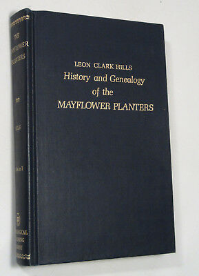 History and Genealogy of the MAYFLOWER PLANTERS, 2 Volumes in 1!