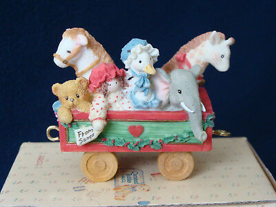 Cherished Teddies - Toy Car Figurine - 219096 - 1996