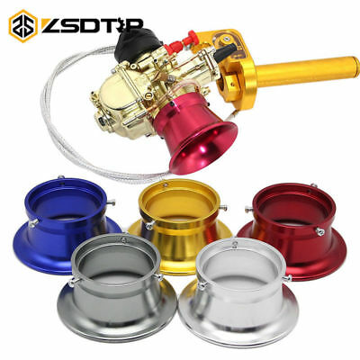 55mm Air Filter Interface Cup Aluminium for 32 34mm Motorcycle Carbur Universal