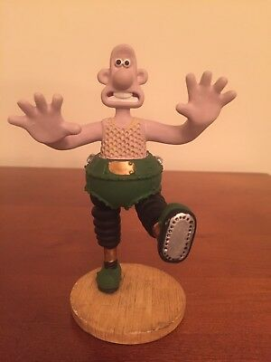 wallace and Gromit Collectible Wallace Figure Rare