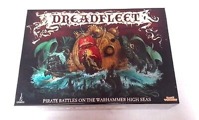 WARHAMMER  FANTASY Dreadfleet Pirate Battles Boardgame Boxset NEW AND SEALED
