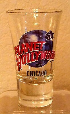 Planet Hollywood CHICAGO Shot Glass