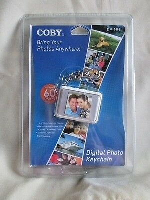 Brand New Sealed Coby Dp151 Digital Photo Keychain Holds Up To 60 Pictures