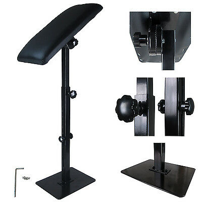 Solong Iron Tattoo Arm Leg Rest Full Adjustable Standing Chairs Armrest TA209