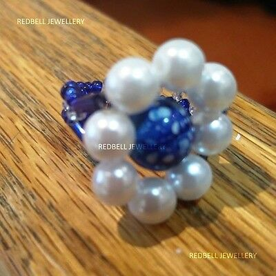 Fashionable Beaded Rings (Multiple designs)