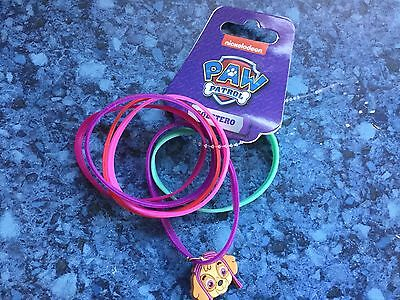 Stunning Nickelodeon Paw Patrol Multicoloured Girls Rubber Bracelets With Charm