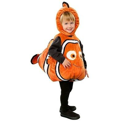 Child ClownFish Finding Nemo Halloween Cosplay Costume Kid