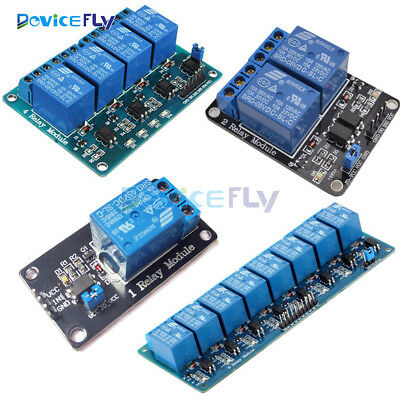 5V 1/2/4/8 Channel Relay Board Module Optocoupler LED for Arduino PiC ARM AVRC