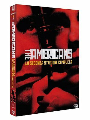 The Americans - Stagione 2 (4 DVD) - ITALIANO ORIGINALE SIGILLATO -