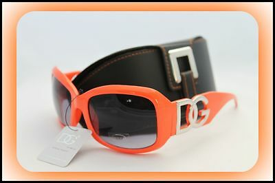 D.G Orange Sonnenbrille NEU Urlaub Stil mode-orange Promi + Case #8 bTqvO