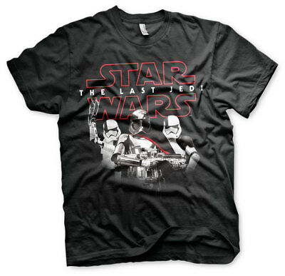 Officially Licensed Star Wars- The Last Jedi Troopers Men's T-Shirt S-XXL Sizes