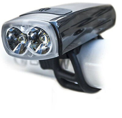 Super Bright Dual LED Front USB Rechargeable Head Light Set