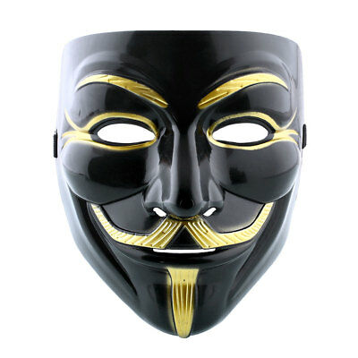 Halloween Unisex Anonymous Vendetta Halloween Fancy Dress Mask (INT)