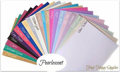 A4 Pearlescent Card, Centura Pearl & Shimmer - Pearlised single sided 310gsm