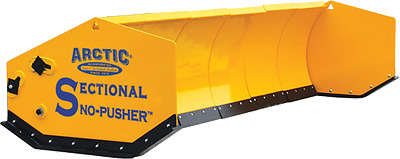 10' LD Arctic Sectional Snow Pusher Plow 2 seasons old Retail is $7800