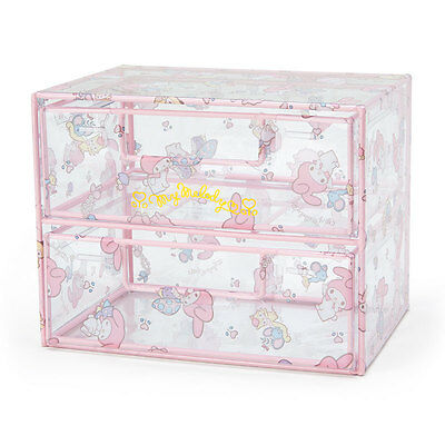 My Melody Clear Mini Chest SANRIO from Japan kawaii SHIPPING FREE