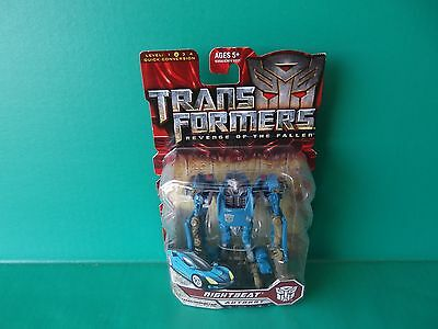 "Transformers ROTF Revenge of the Fallen Scout Class Nightbeat 4""in Action Figure"