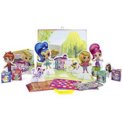 Nickelodeon Shimmer And Shine Storybook Paper Doll Kit