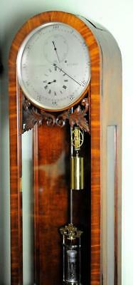 SMALL VICTORIAN REGULATOR CLOCK GLAZED SIDES - Superior quality