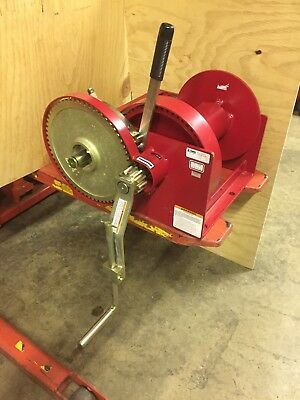 Winch Hand Double Reduction Thern Winch 10000# Thern Hand Winch