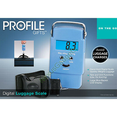 Digital Luggage Scale Hanging Electronic Weight Baggage Bag Travel (PACK OF 24)