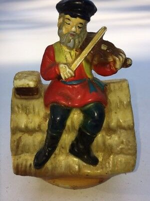 """Vintage Fiddler on the Roof Music Box Gently Plays """"Sunrise/Sunset"""""""