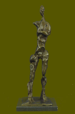 Mid Century Modern/Giacometti Inspired Abstract Figurative Bronze Sculpture Sale