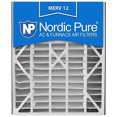 Air Bear Filter 20x25x5 Merv 12 11 Furnace AC Electrostatic Allergy Nordic Pure