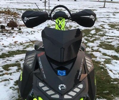 Ski-Doo XP Black Headlight Covers (Now available in Gloss Black)