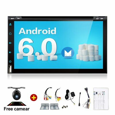 2G 32G Quad 4 Core 6.95 inch 2 Din Android 6.0 Car Stereo Radio Muti-touch GPS