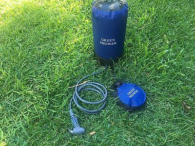 Pressure Camping Shower - Last Ones Available -  Solar Camp Tent Boat Dog Water