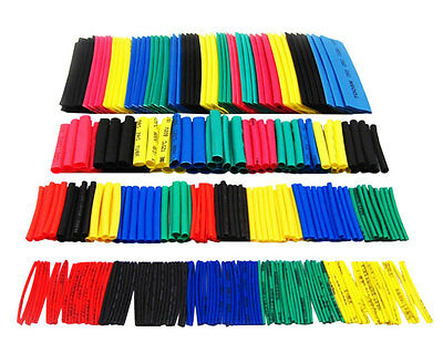 14PCS Φ2 ~ 12MM - 7Colours HEAT SHRINK TUBING for Wires Electronic LED Lights