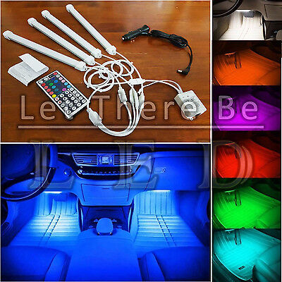 4 PCS * 25CM Wireless RGB LED Bars - VIDEO PREVIEW