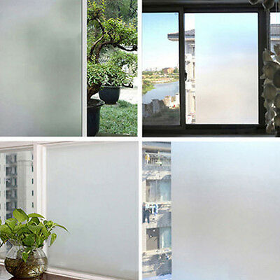DIY FROSTED Window Cling Film 45CM or 60CM WIDE