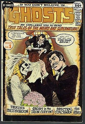 GHOSTS  1  VG/FN/5.0  -  An eerily scarce Bronze key issue!