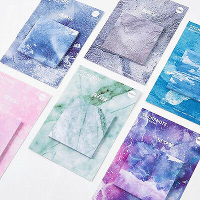 Exclusive Design The Natural Color Self-Adhesive Memo Pad Sticky Notes Stickers