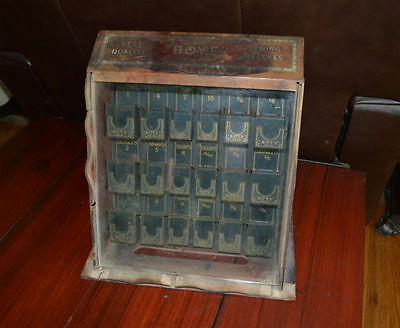Antique Boye Sewing Needle Display