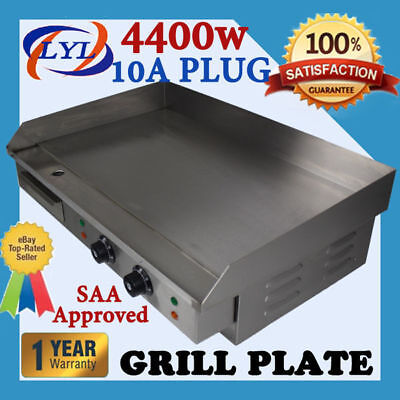 4400W Griddle Grill Hot Plate Stainless Steel Bbq Grill Large Plate