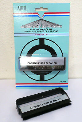 Anti-Static Carbon Fibre Record Cleaning Brush (Vinyl Cleaner Dust Removal) NEW