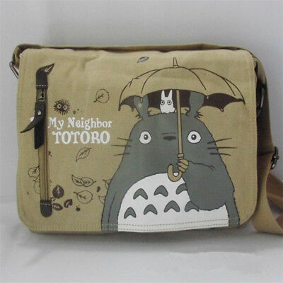 Anime My Neighbor Totoro Canvas Messenger Shoulder Bag Cosplay Collection