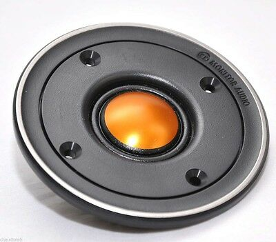 One New Pair (2 units)For  Monitor Audio TBX025 V2 25mm Gold Dome Tweeters