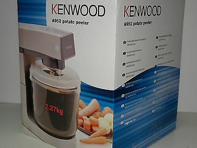 Kenwood Genuine AT952 Potato Peeler Attachment for Chef Major- Brand New