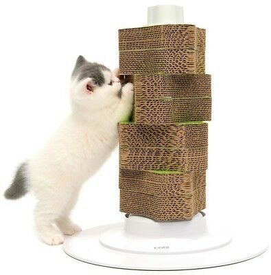 Catit Senses 2.0 Scratcher Cat Kitten Attractive Scratching Tower Play Pet New