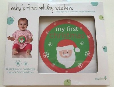 Tiny Ideas Baby's First Holiday Stickers