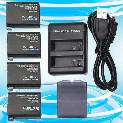 OEM Gopro AHDBT-401 Battery Charger for Gopro HERO4 Black Silver HD Camera